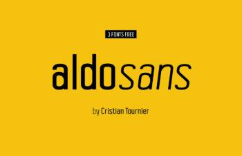 Aldo Sans Free Condensed Sans-Serif Family
