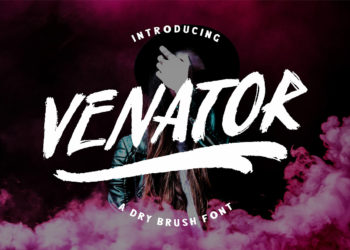 Free Venator Brush Font