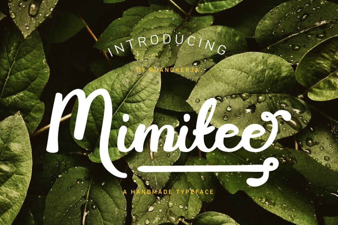 Mimitee Free Font