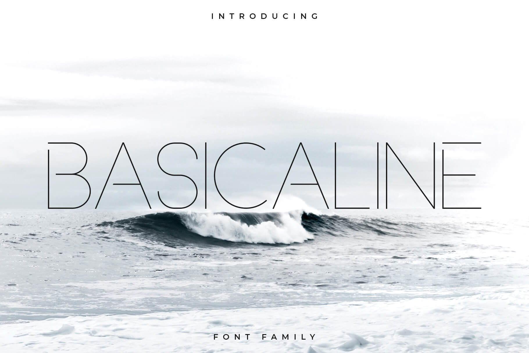 Basicaline Font