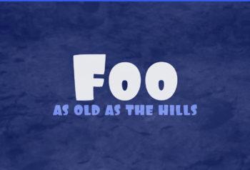 Foo Font