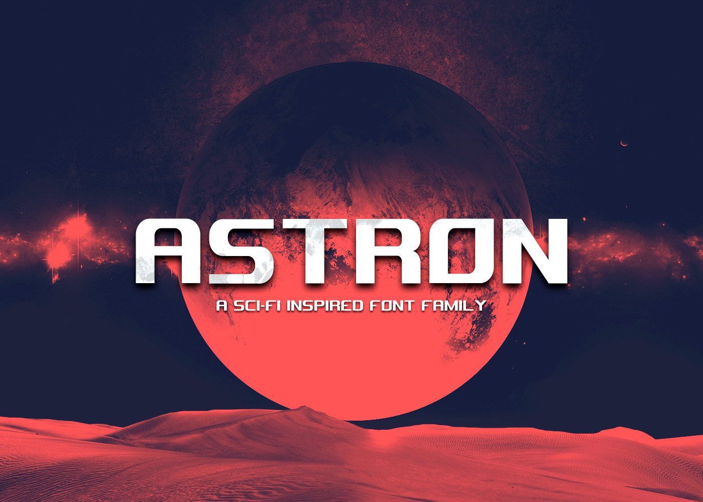 Free Astron Font