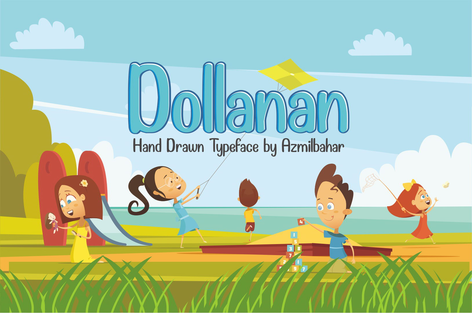 Free Dollanan Font