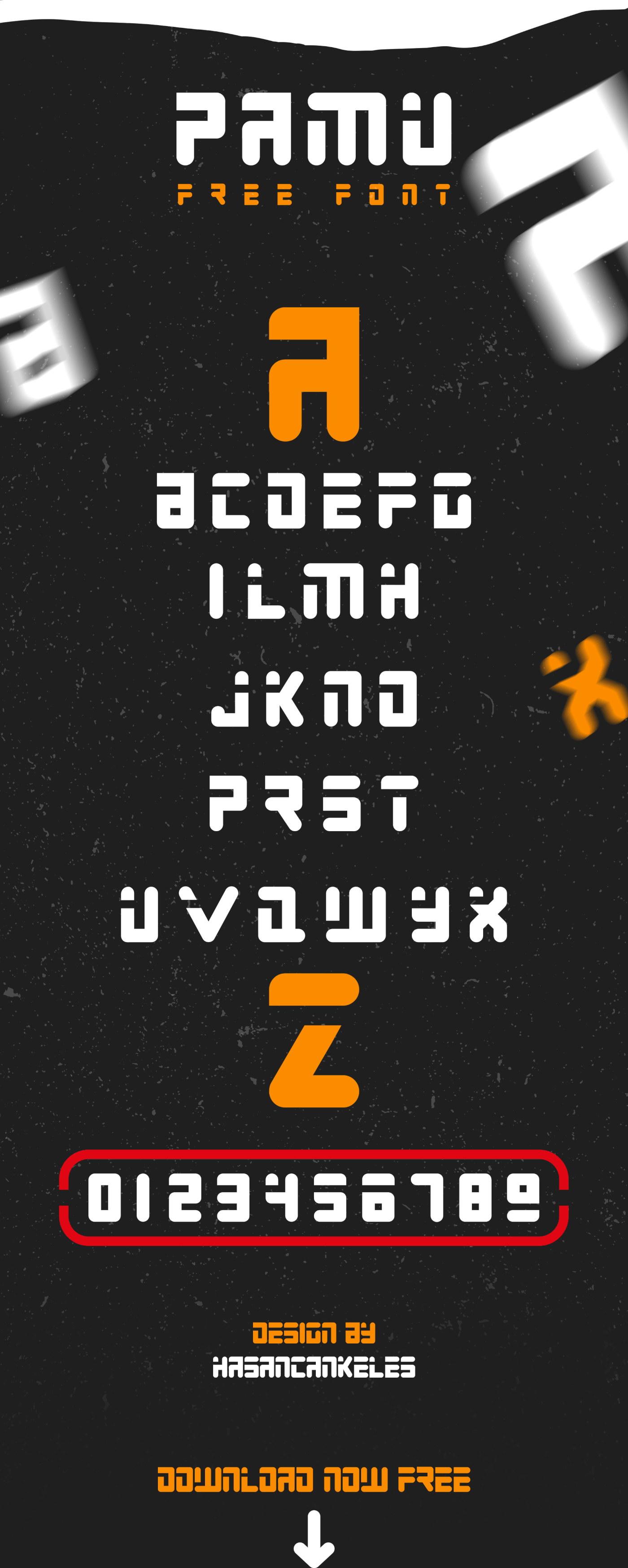 Free Pamu Font
