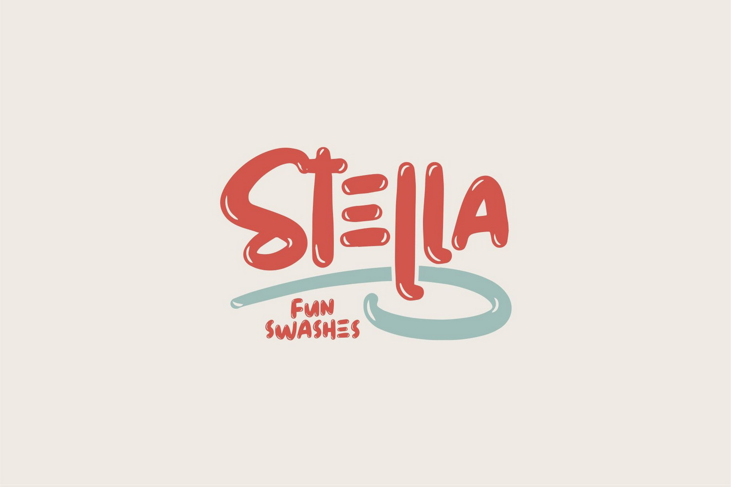 Free Stella Display Font