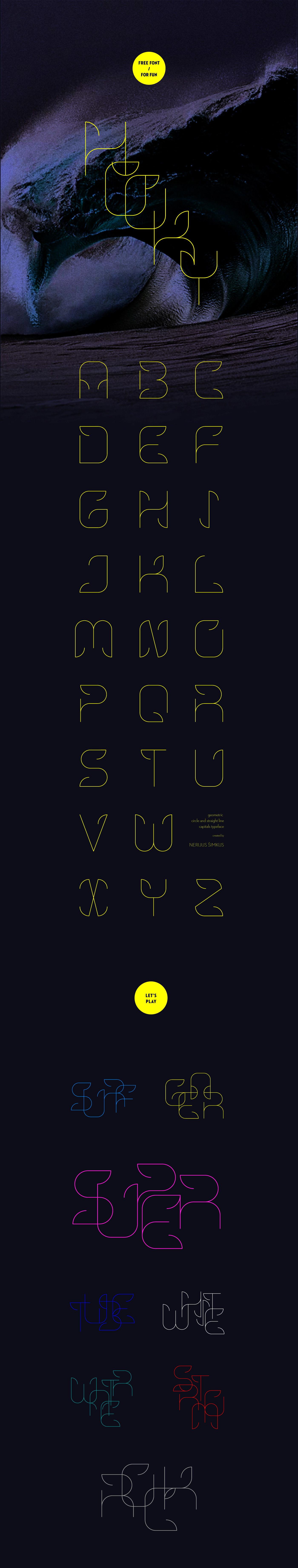 Hooky Font