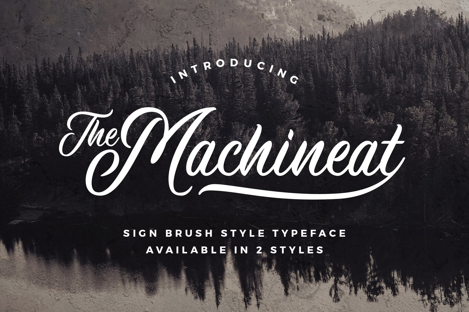 Machineat Font Demo