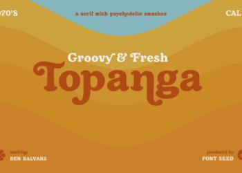 Topanga Font Free