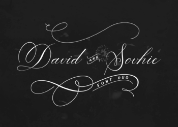 David and Sovhie Free Font