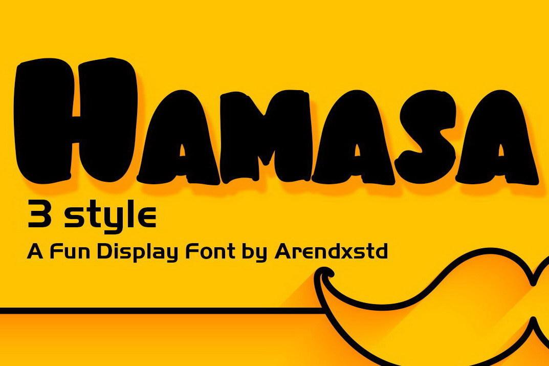 Hamasa Font
