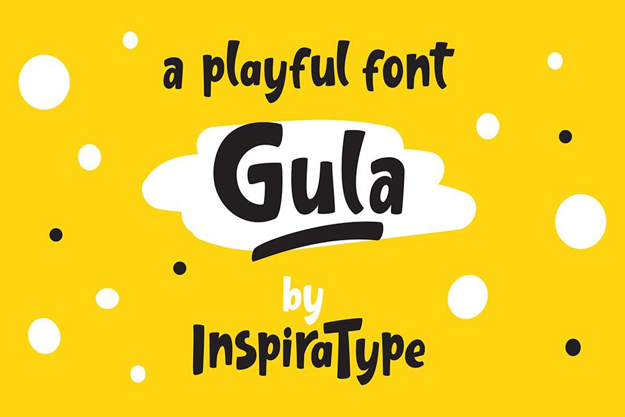 Gula Playful Font Demo