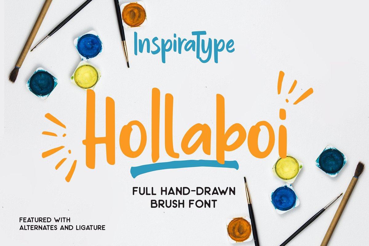 Hollaboy Display Font Demo