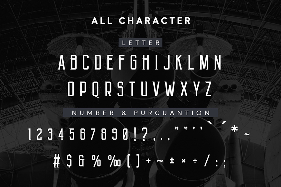 Angkasa Free Display Font