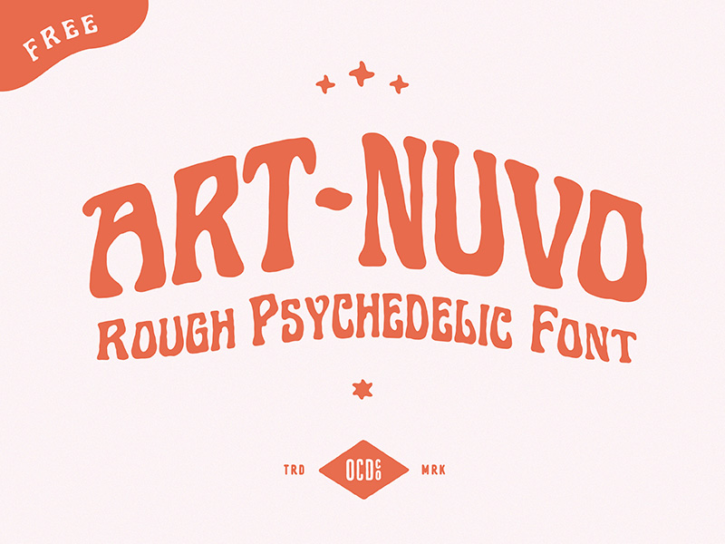 Art Nuvo Free Display Font