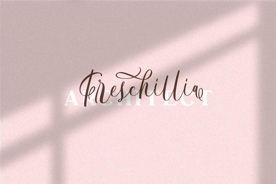 Bordellia Script Lettering Font