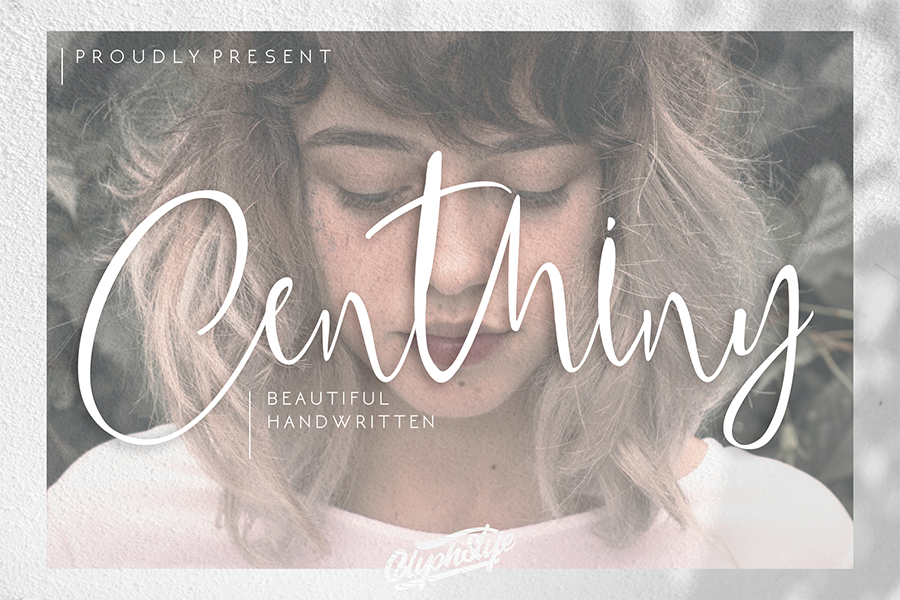 Centhiny Beautiful Handwritten Font