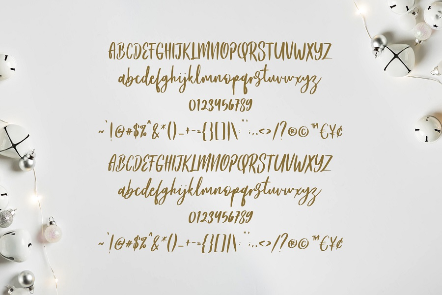 Frances Modern Script Font