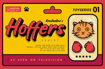 Hoffers Playful Display Font