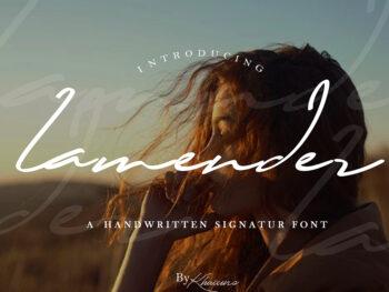 Lamender Handwritten Script