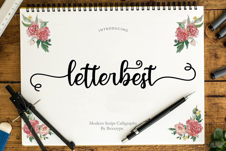 Letterbest Handlettering Script