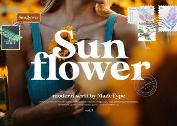 MADE Sunflower Serif Font