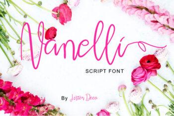 Nanelli Modern Script Demo