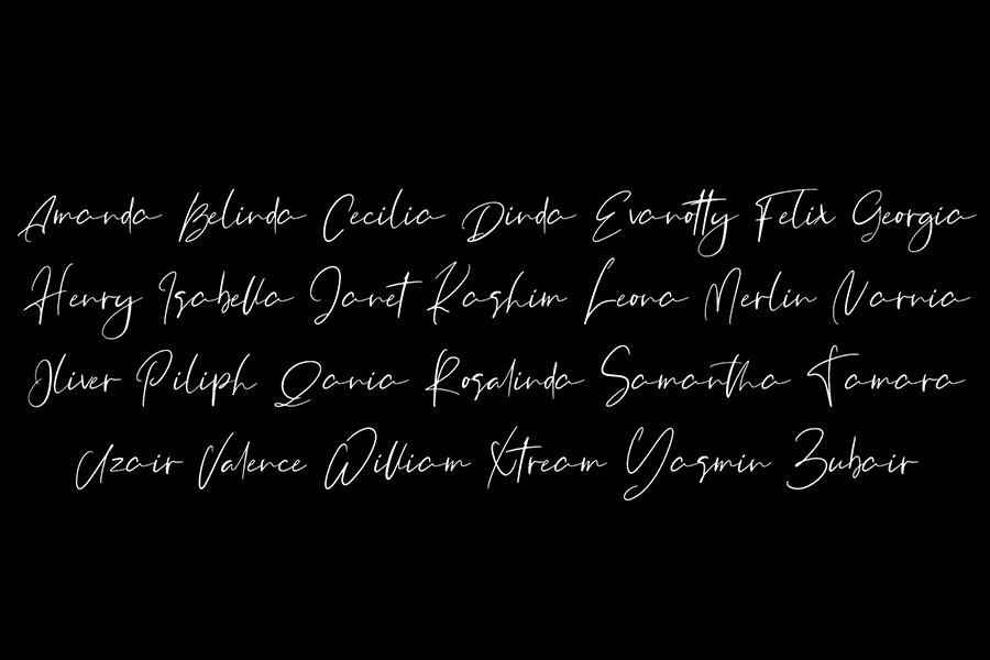 Orchest Luxurious Script Font