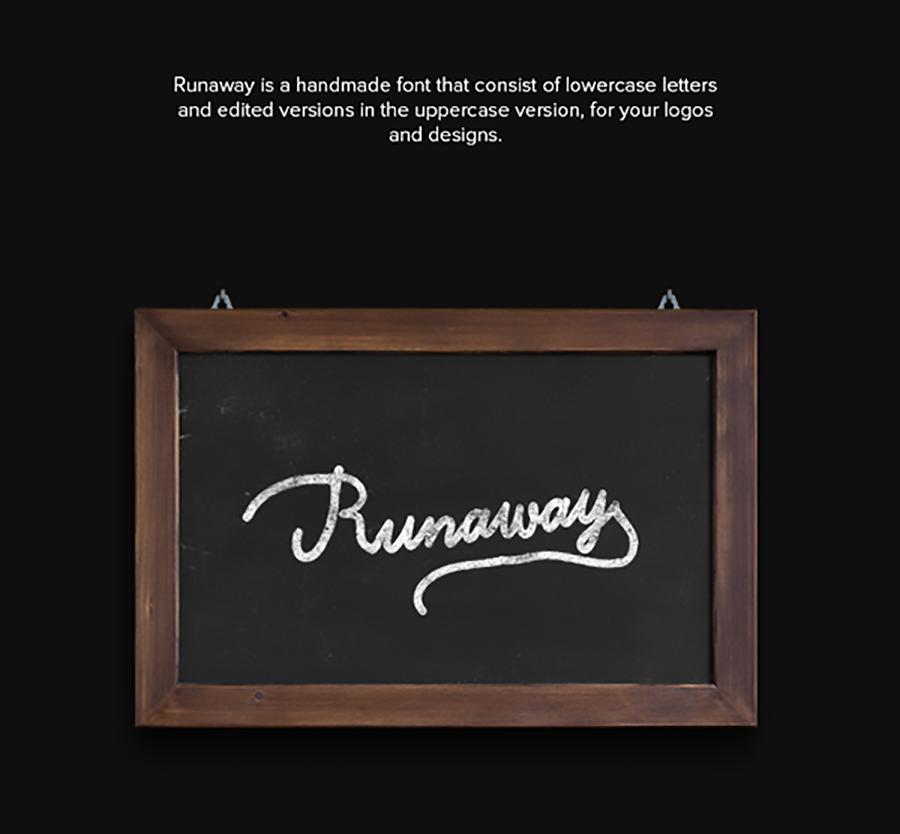 Runaway – Free Font