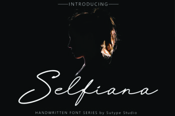 Selfiana Handwritten Font