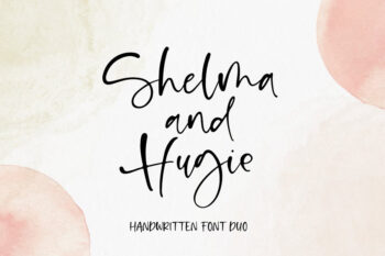 Shelma and Hugie Font Duo