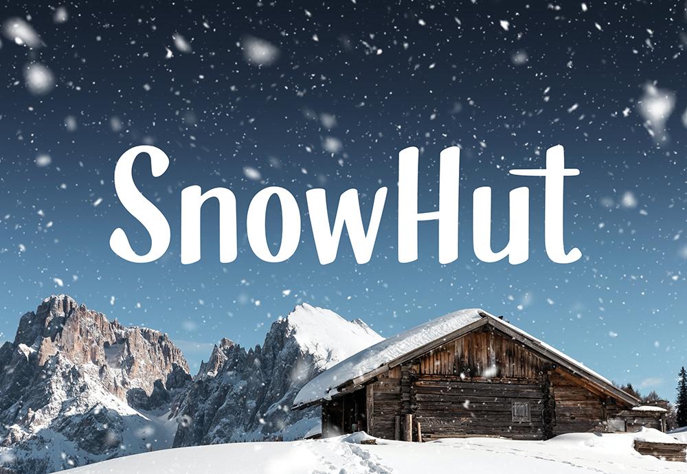 SnowHut Typeface Free Glyphset