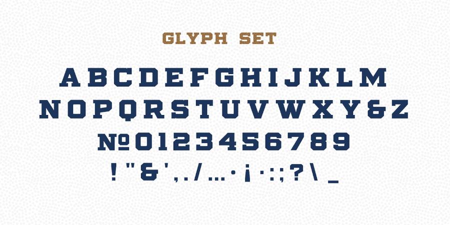 Stoneburg Block Free Font
