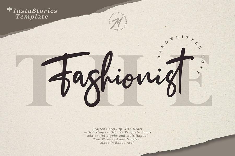 The Fashionist Script Font