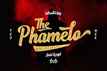 The Phamelo Bold Script