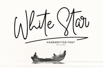 White Star Script Font Demo