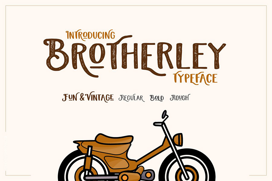 Brotherley Typeface Free Demo