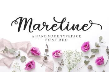 Mareline Script Free Demo