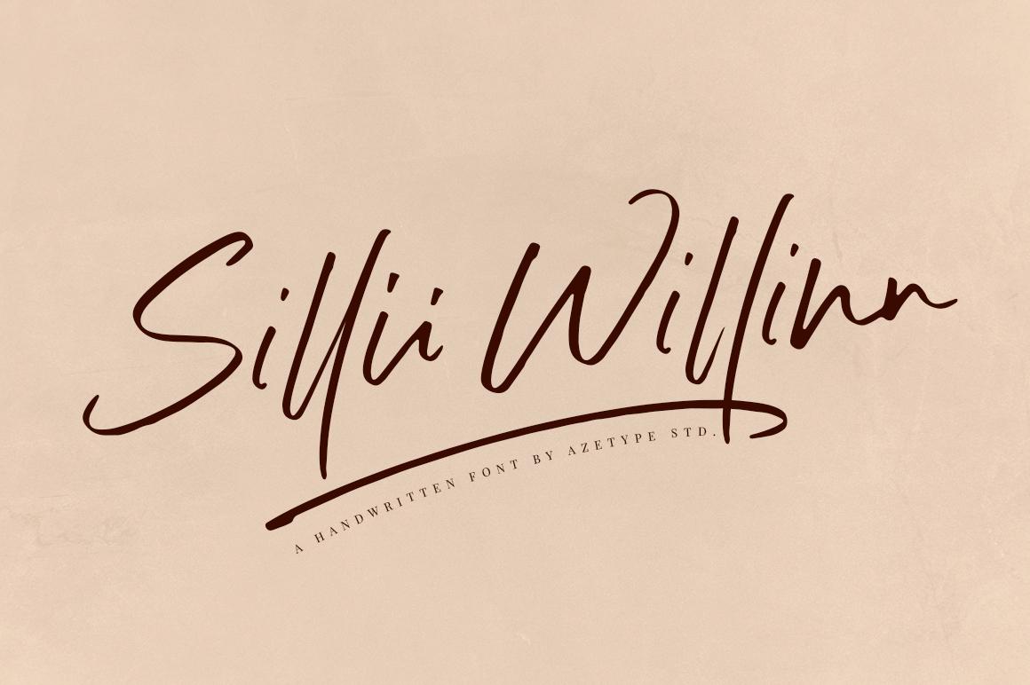Sillii Willinn Handlettering