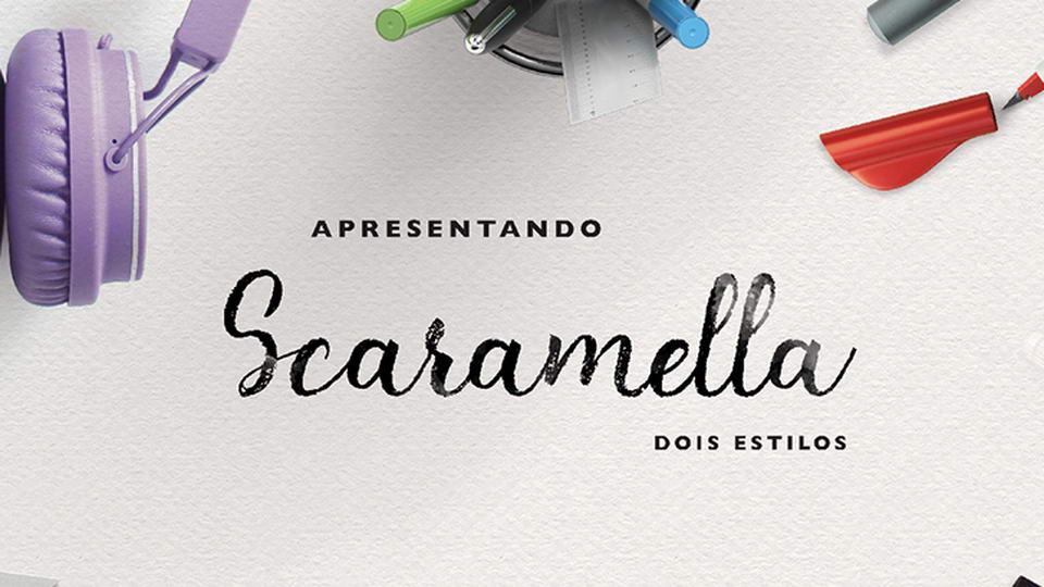 Scaramella Script Free Font