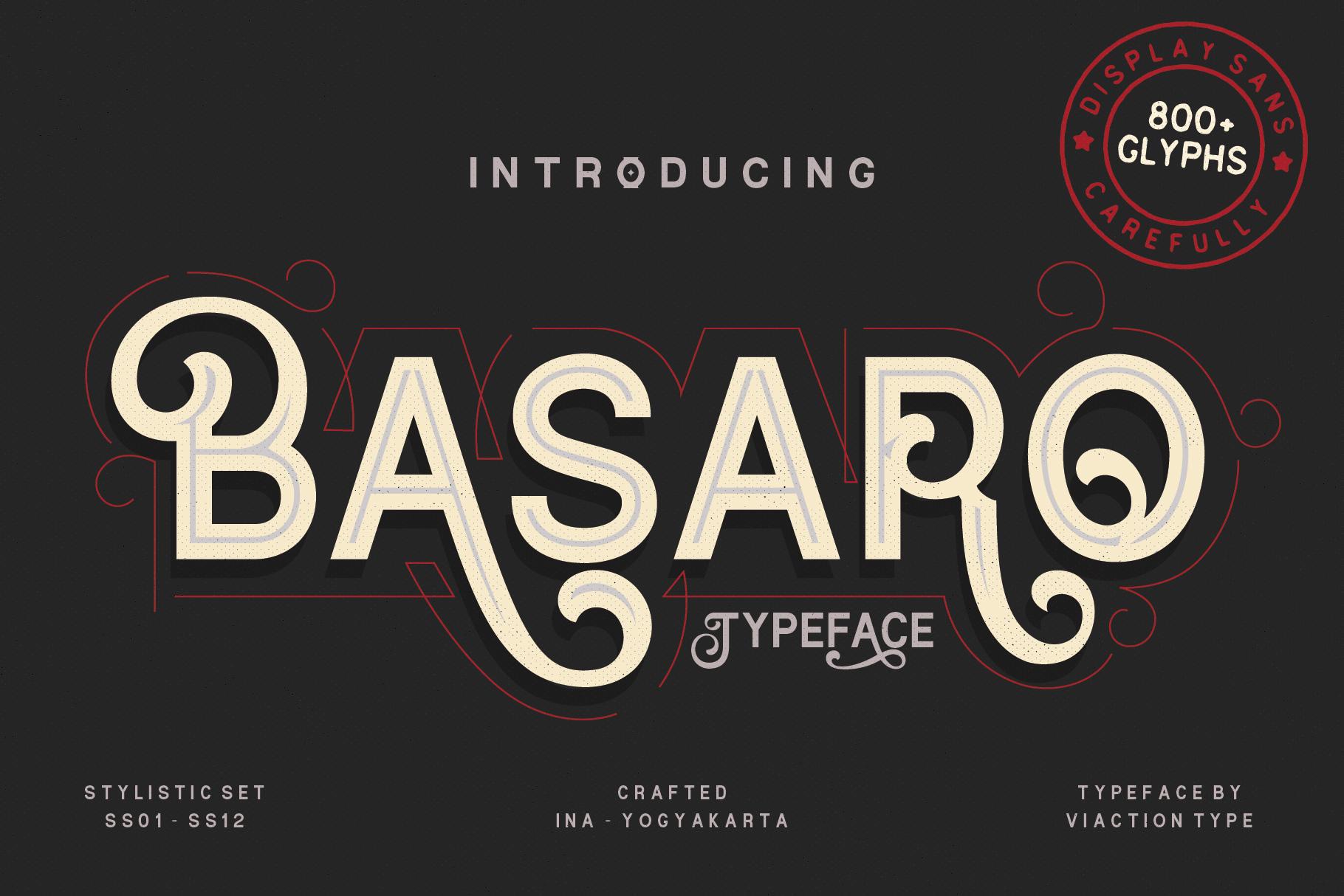 Basaro Free Font