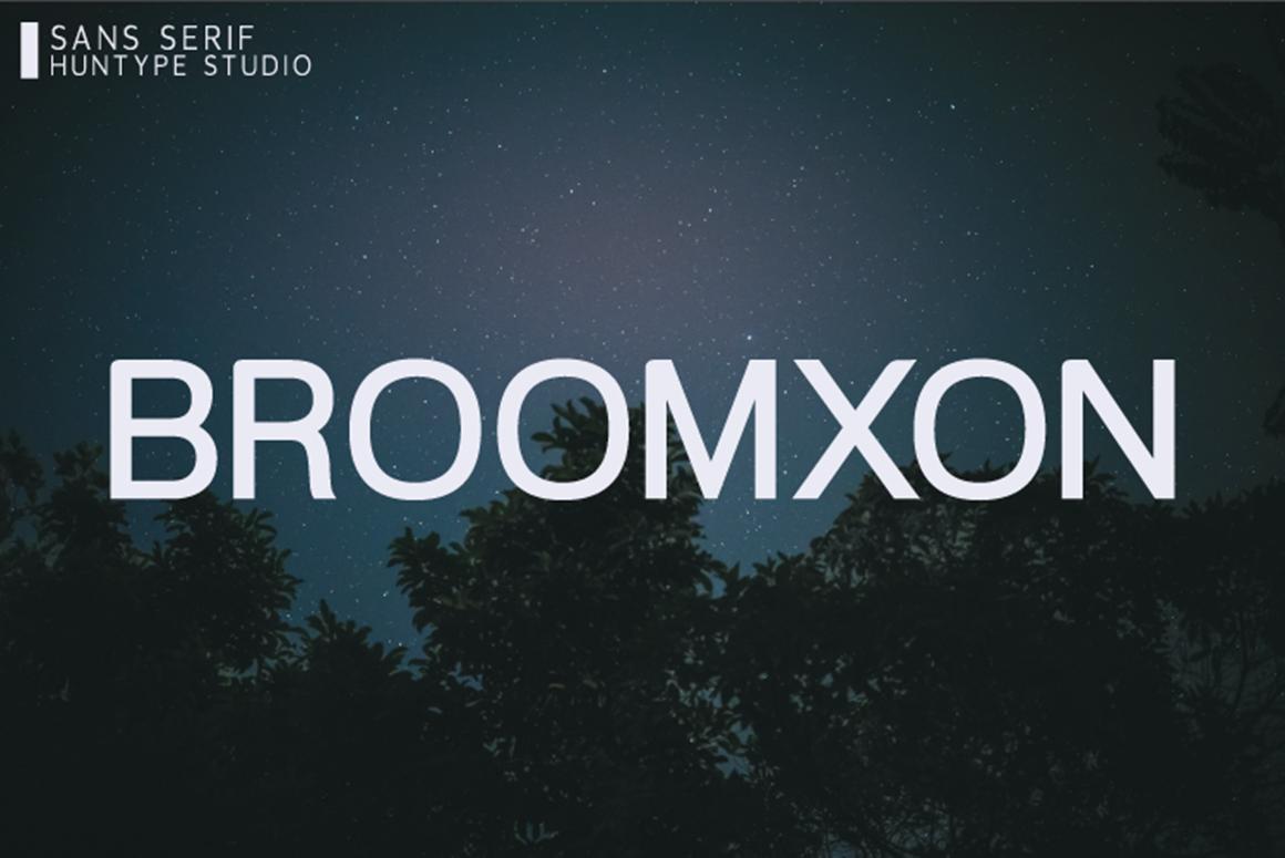 Broomxon Free Font