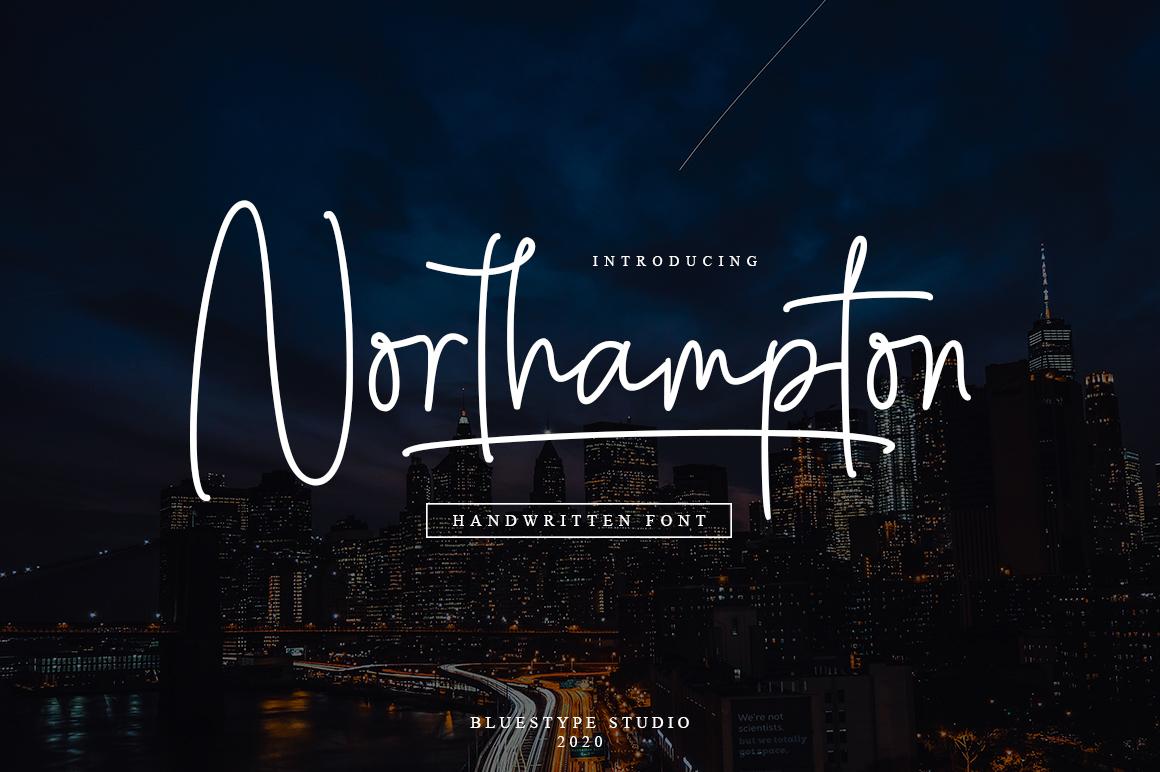 Free Font Northampton