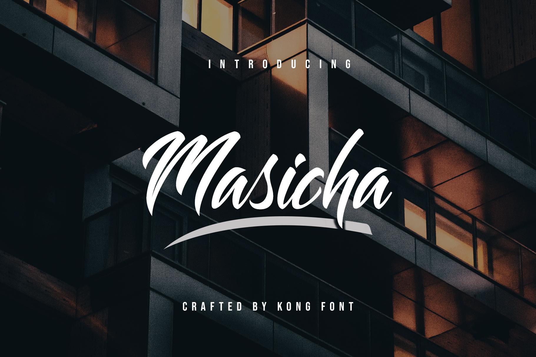 Masicha Handwritten Free Font