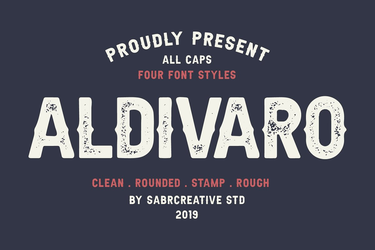 Aldivaro Free Font