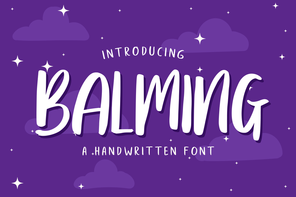 Balming Free Font