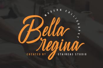 Bella Regina Free Font