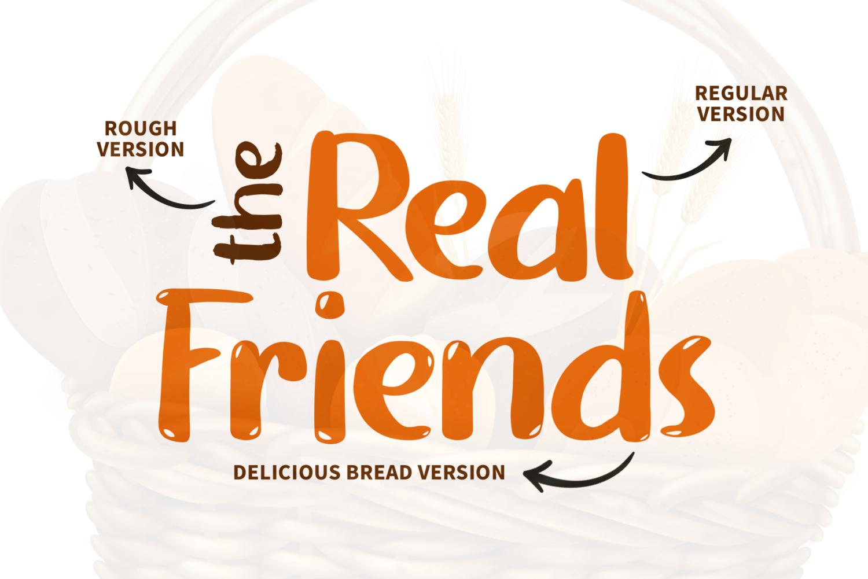 Bread Free Font