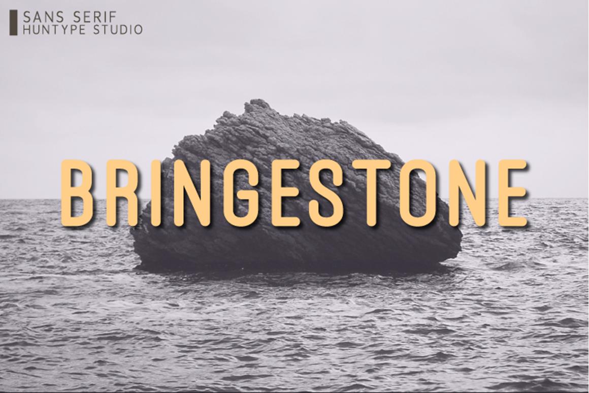 Bringestone Free Font