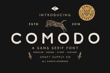 Comodo Free Font