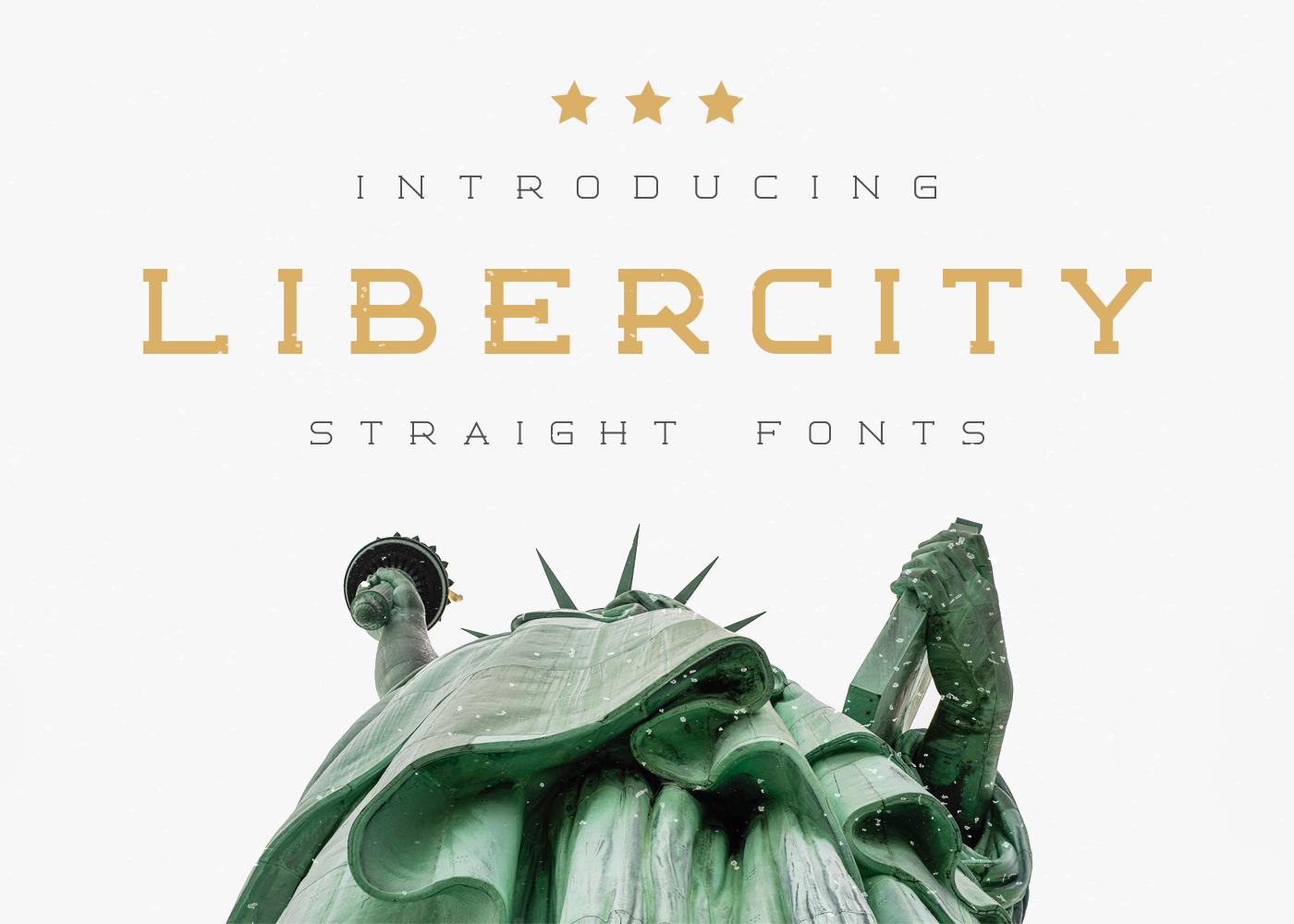 Libercity Free Font